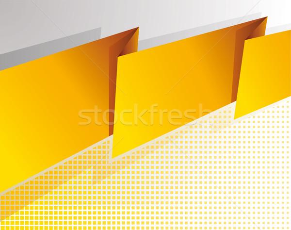 аннотация желтый баннер бизнеса текстуры дизайна Сток-фото © Grafistart