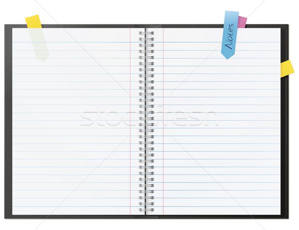 Note Book Stock photo © Grafistart