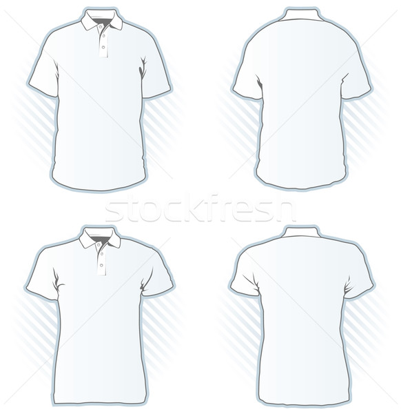 Polo design modèle de conception Homme Homme Photo stock © Grafistart