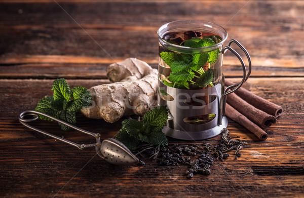 Herbal tea Stock photo © grafvision