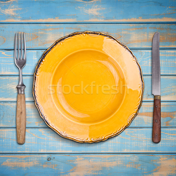 Empty plate Stock photo © grafvision