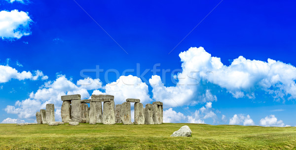 Stonehenge anciens pierre monde Rock Angleterre Photo stock © grafvision