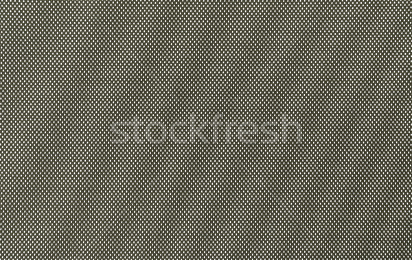 Nylon tecido macro tiro preto Foto stock © grafvision