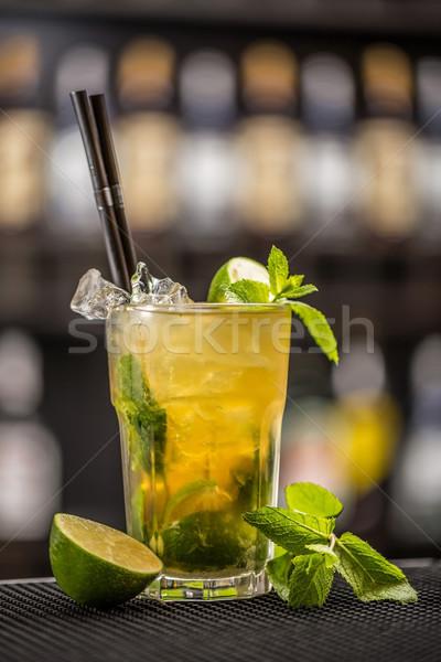 Mint julep cocktail Stock photo © grafvision