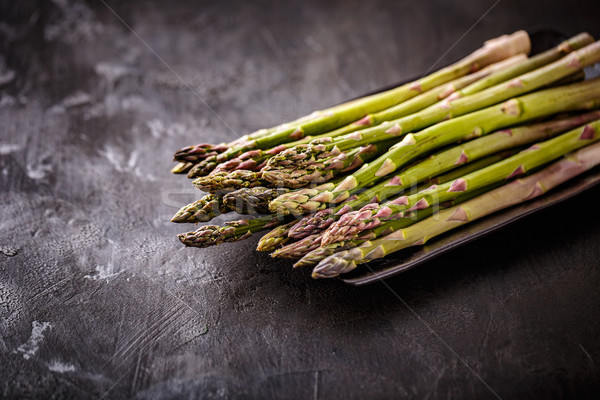 Fresh picked aspargus  Stock photo © grafvision