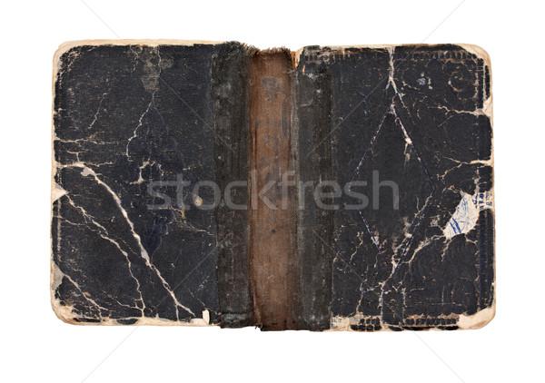 Old open book Stock photo © grafvision