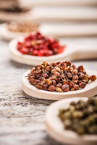 Sichuan peppercorns Stock photo © grafvision