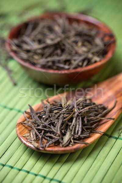 Oolong çay aromatik Çin arka plan Stok fotoğraf © grafvision