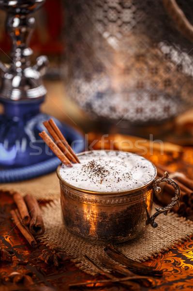 Chai, a rich and creamy mixture Stock photo © grafvision