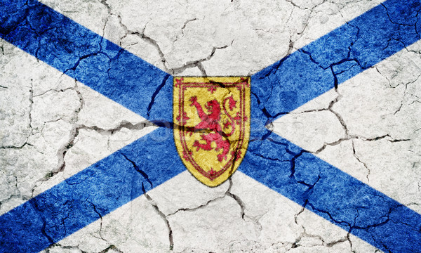 Nova Scotia, province of Canada, flag Stock photo © grafvision