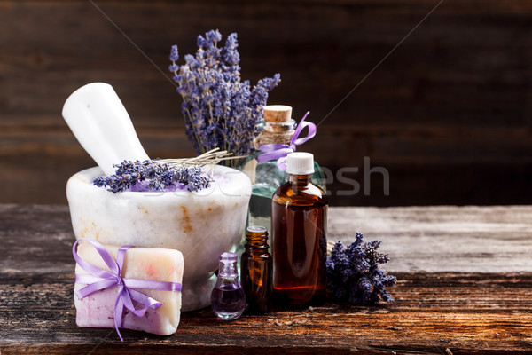 Still life with lavender Stock photo © grafvision