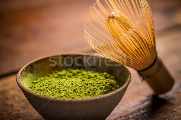 Matcha green tea Stock photo © grafvision
