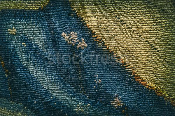 текстильной шаблон красочный ретро аннотация Сток-фото © grafvision