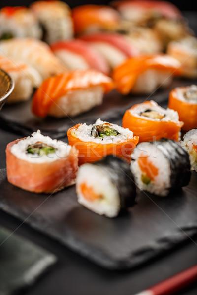 Sushi set rolls  Stock photo © grafvision