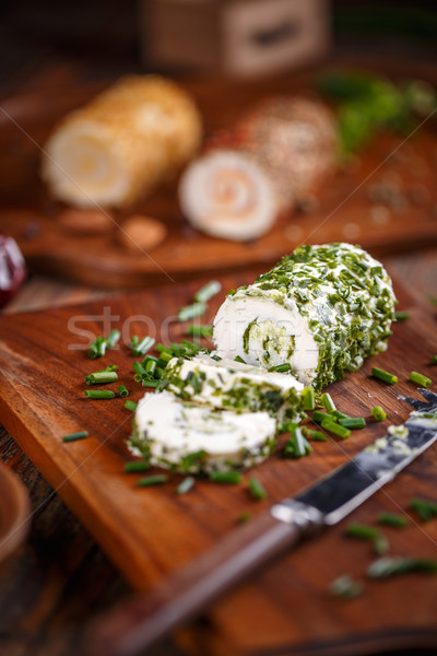 Delicious soft cheese Stock photo © grafvision