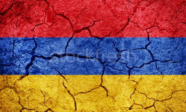 共和国 アルメニア フラグ 地球 地上 ストックフォト © grafvision