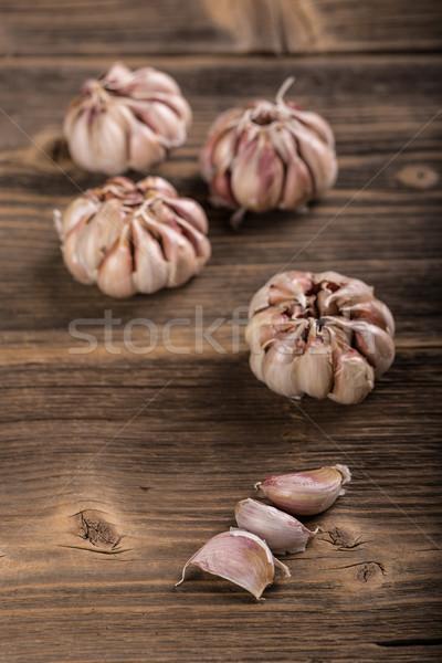чеснока гвоздика продовольствие приготовления совета здорового Сток-фото © grafvision