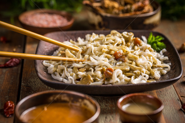 Thai noodles  Stock photo © grafvision