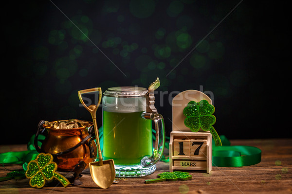 Composition for St. Patrick's Day Stock photo © grafvision