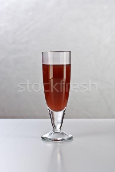 бренди выстрел алкоголя пить серебро вечеринка Сток-фото © grafvision