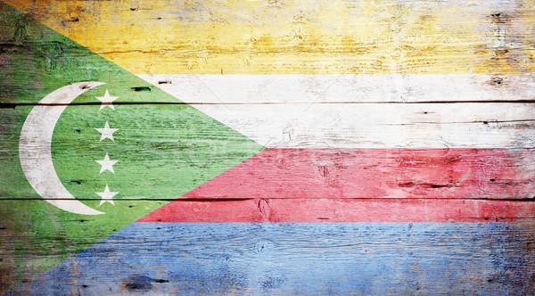 Stock photo: Flag of Comoros