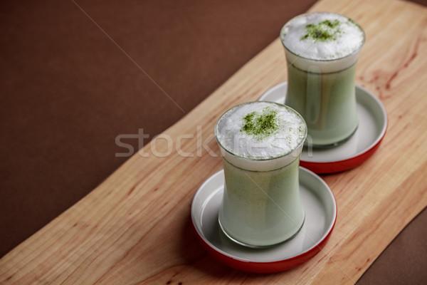 Matcha latte Stock photo © grafvision
