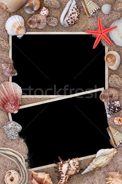 Polaroid photo cards Stock photo © grafvision