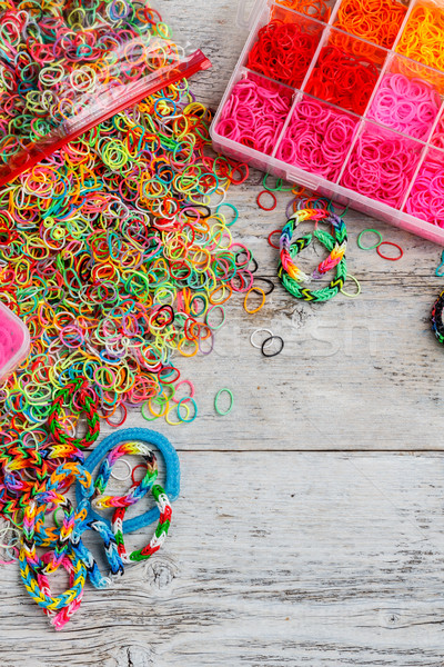 Loom bands Stock photo © grafvision