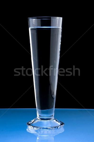 清浄水 ガラス 黒 ドリンク クリーン アルコール ストックフォト © grafvision