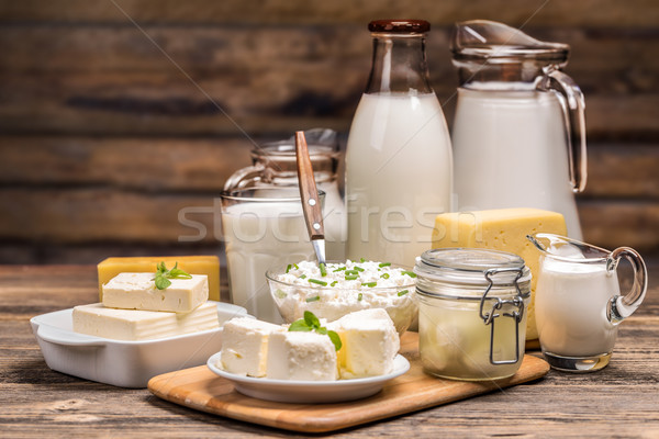 Still life with dairy product  Stock photo © grafvision