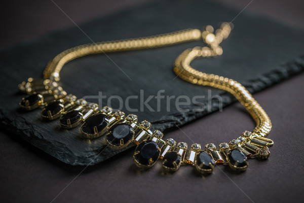 Necklace with gems  Stock photo © grafvision