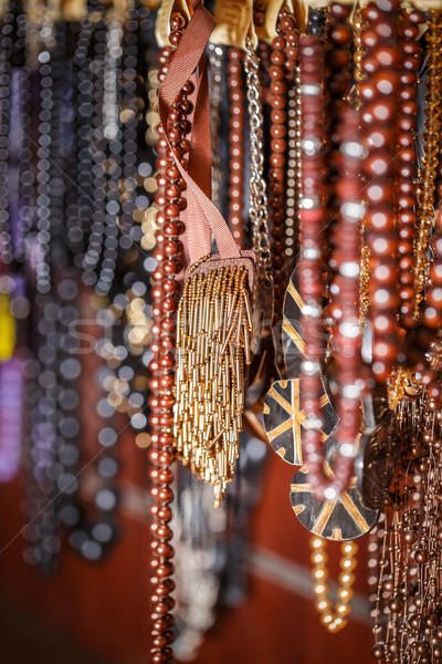 Different colored trinkets Stock photo © grafvision