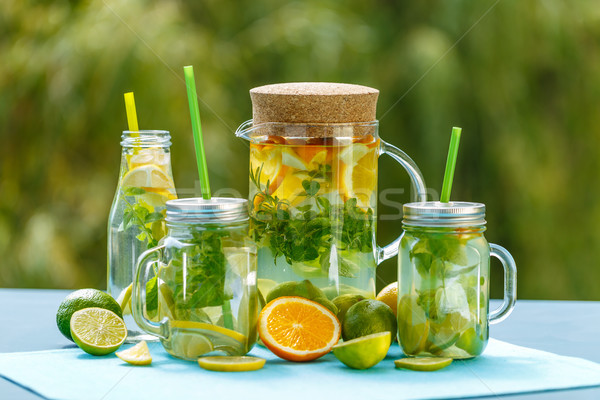 Lemon Detox Water Stock photo © grafvision