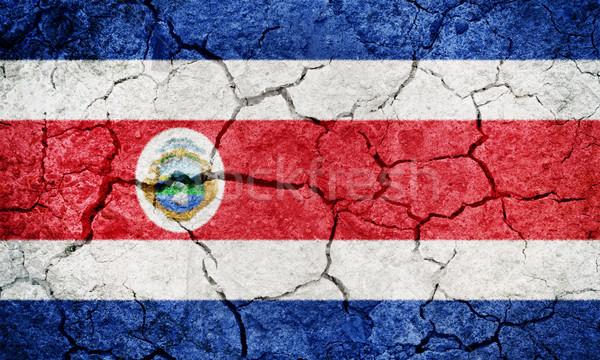 Republic of Costa Rica flag Stock photo © grafvision