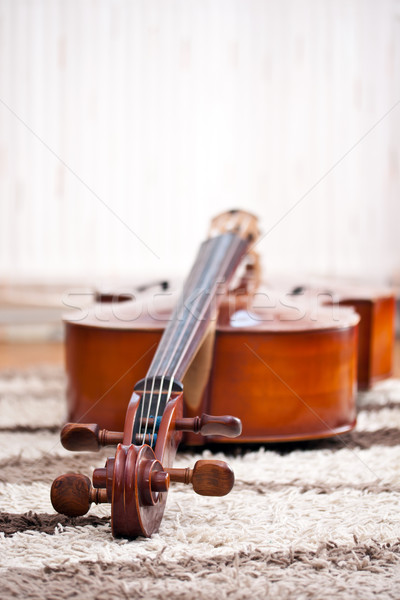 classical cello Stock photo © grafvision