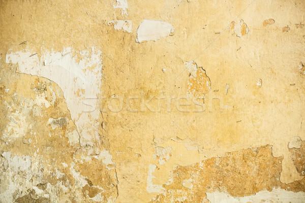 Edad yeso pared textura marco espacio Foto stock © grafvision