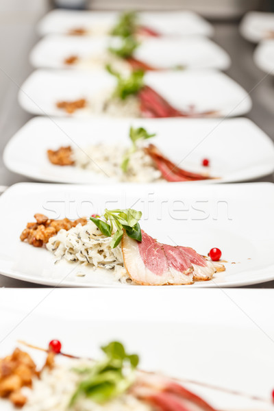 Goose breast fillet Stock photo © grafvision