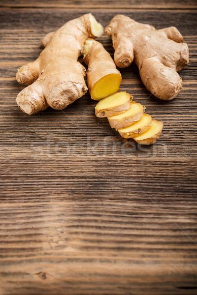 Fresh ginger root  Stock photo © grafvision