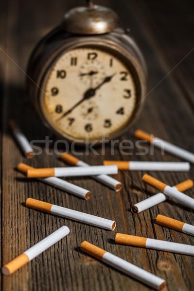 Stock photo: Cigarette concept