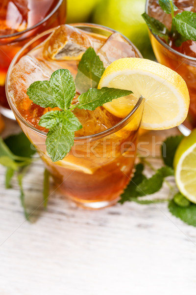 Glass of iced tea  Stock photo © grafvision