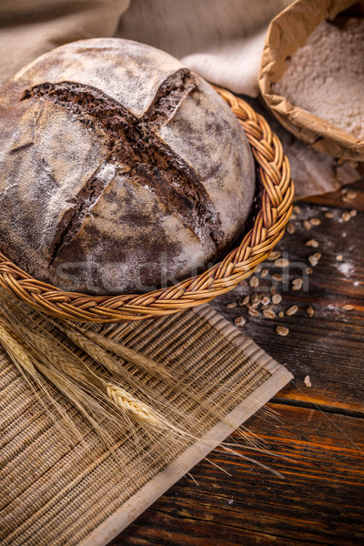 Artisan bread Stock photo © grafvision