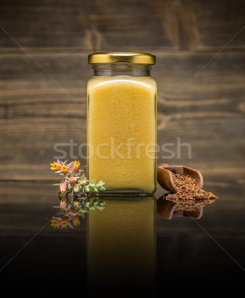 Honey in jar  Stock photo © grafvision