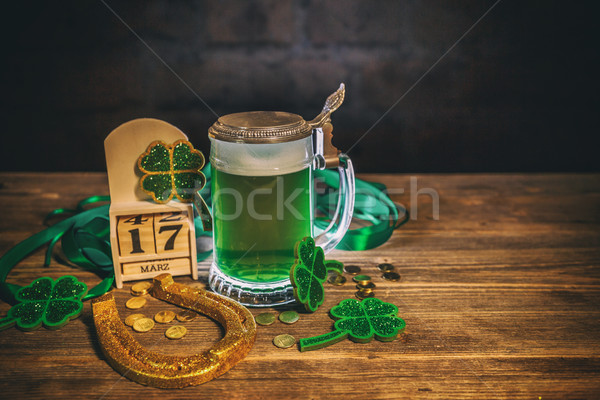 St Patrick's day concept Stock photo © grafvision