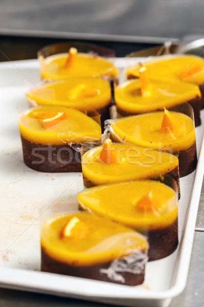 Many chocolate cake Stock photo © grafvision