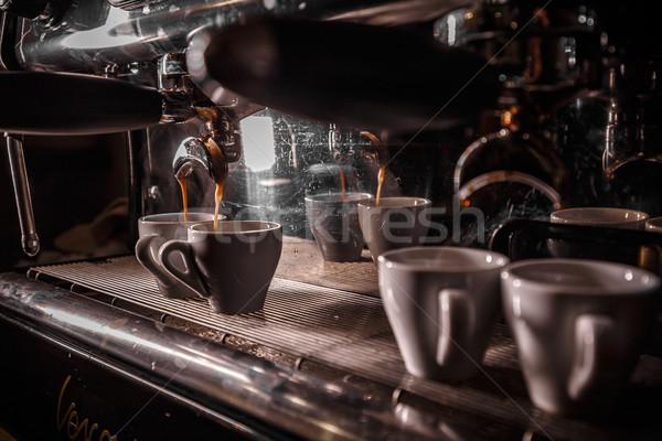 Coffee machine Stock photo © grafvision