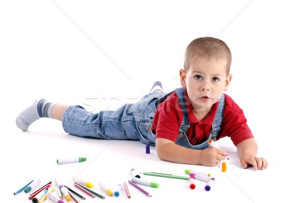 Drawing Stock photo © grafvision