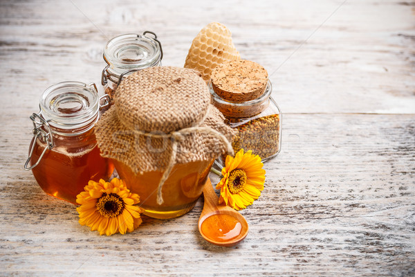 Stock photo: Honey