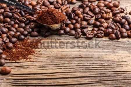 Roasted coffee Stock photo © grafvision