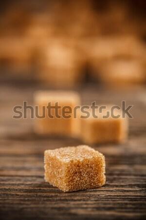 Brown sugar Stock photo © grafvision
