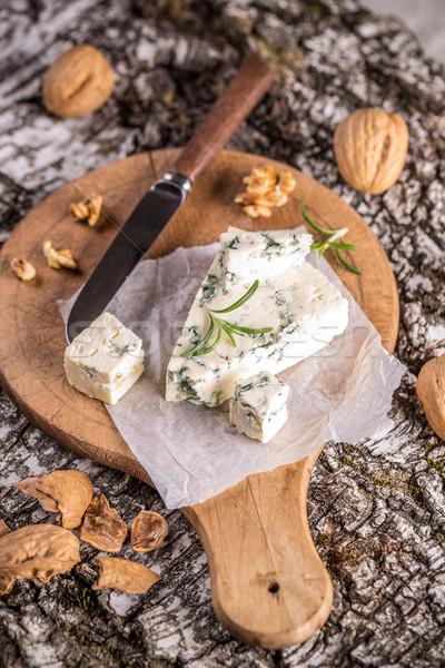 Queijo bolor delicioso azul Foto stock © grafvision